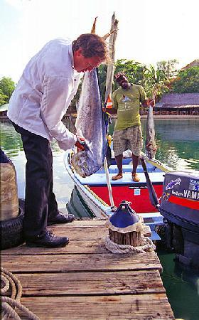 Jacques Waterfront Dining aka Froggie Jacques: Chef Jacques and the Catch of the Day