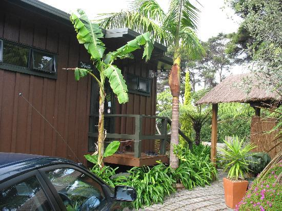 Waters Edge Holiday Accommodation: Entrance to the Suite