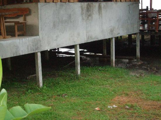 Tenta Nakara: Sous le restaurant le marouillat, quelles odeurs pestilentielles