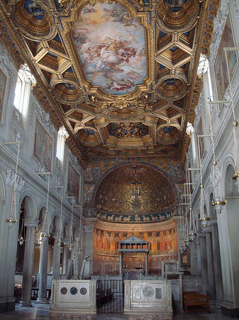 Roma, Italia: main church