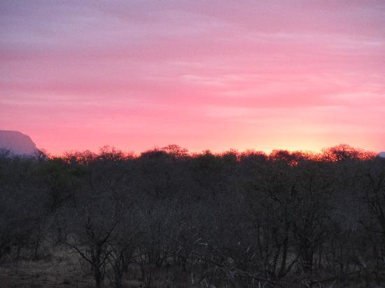 Kapama River Lodge: sunset kapama Kruger Park
