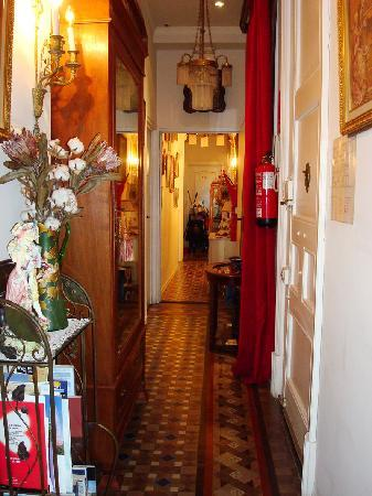 Hostal L' Antic Espai : L'Antic Espai, standard single bedroom