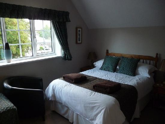 Victoria Lodge : 2. The room (twin room with double bed)