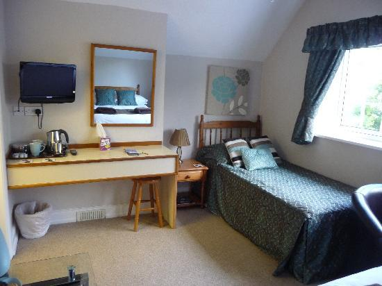 Victoria Lodge: 3. The room (twin room with single bed)
