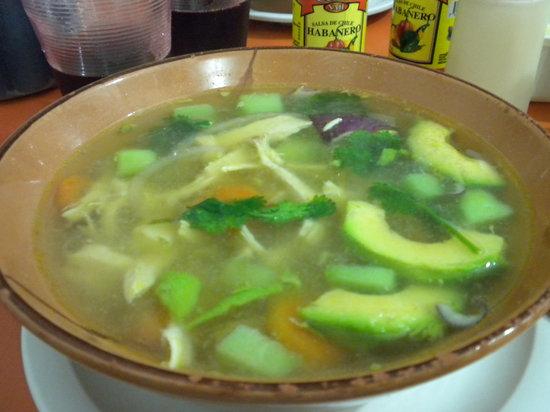 Los Gallos: Tlajalepeno Soup