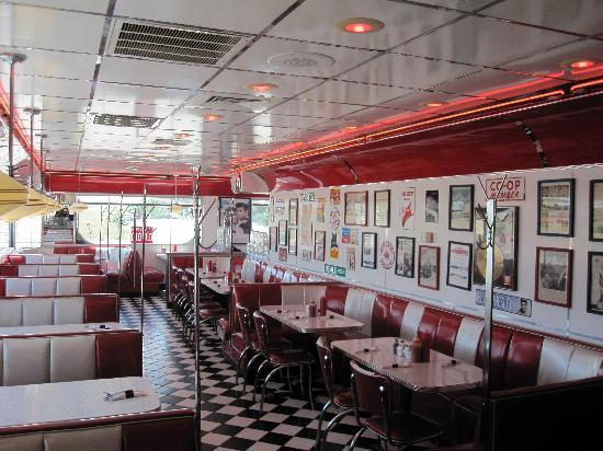 The interior of the diner picture of i 70 diner for Diner interior