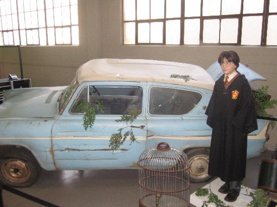 Burbank, CA: Harry Potter Car