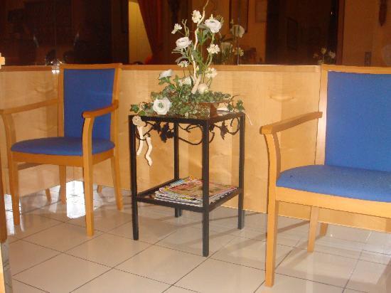 Hotel Carmen: Aqui nos sentabamos a conversar