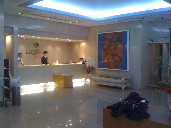 Hotel Marix Lagoon : フロント