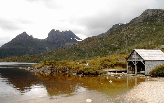 Национальный парк Крейдл-Маунтин - Лейк-Сент-Клер, Австралия: Spring day at Cradle Mountain