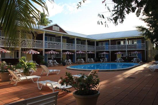 La maison creole hotel guadeloupe le gosier voir les for La maison hote
