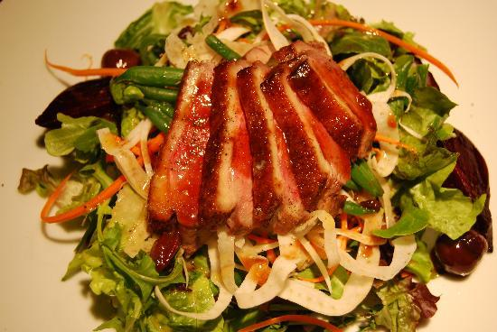 Wine o'Clock: Chef's composed salad of the week - Duck Breast!