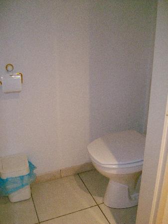 Aparthotel Brussels Midi: WC separato dal resto del bagno per molti un fastidio per me un pregio è come avere un doppio se
