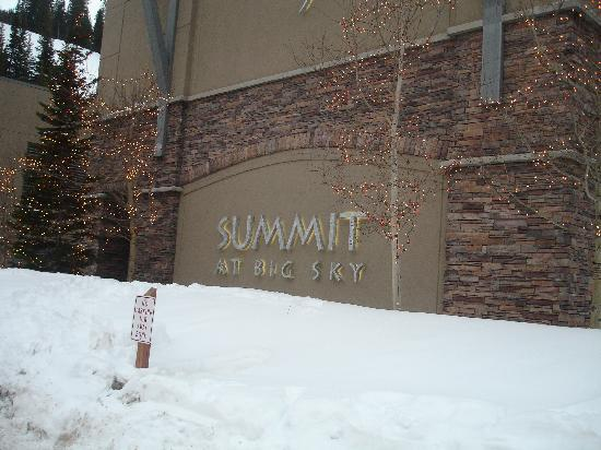The Summit At Big Sky: sign