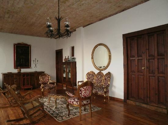 Hotel Posada San Cristobal: Vestíbulo