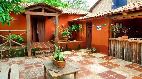 Hotelito Rincon de la Ceiba: El Patio