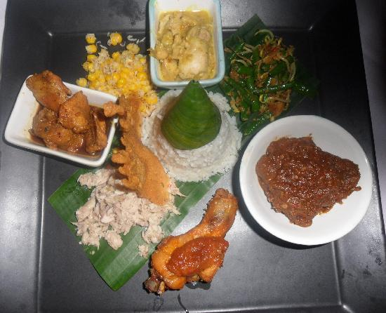 Nasi Campur -  Bali Cardamon style