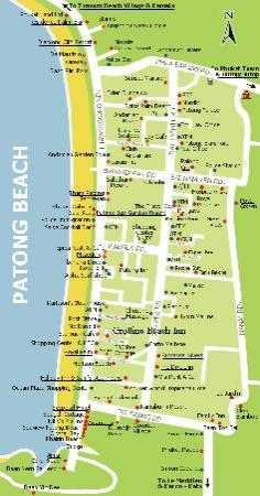 Grottino Beach Inn: Direction Map