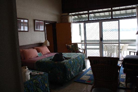 The room at Madang Resort