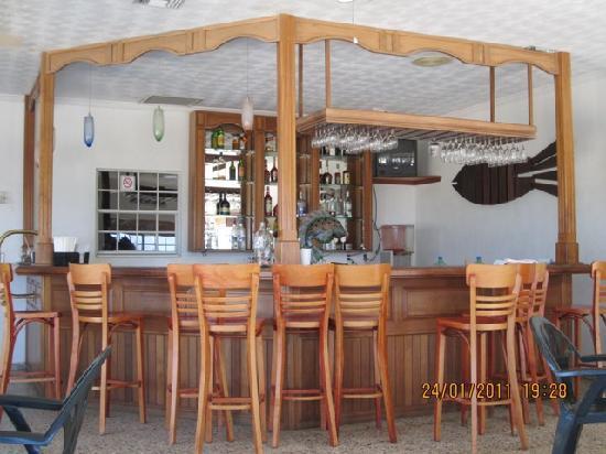 Turquoise Bay Dive & Beach Resort : Bar