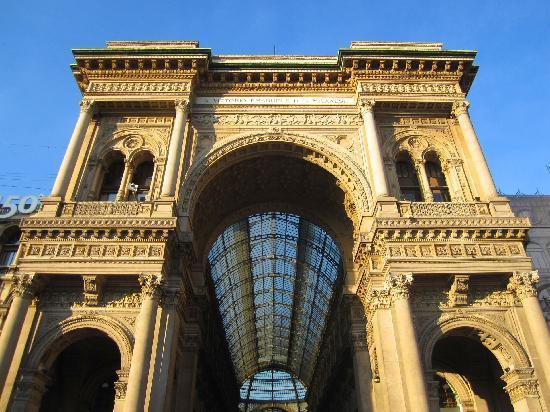 Milan, Italie : Galleria Vittorio Emanuele II