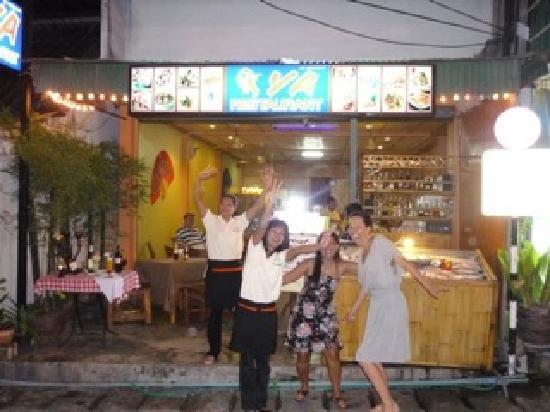 Ya Restaurant : Glad peronal