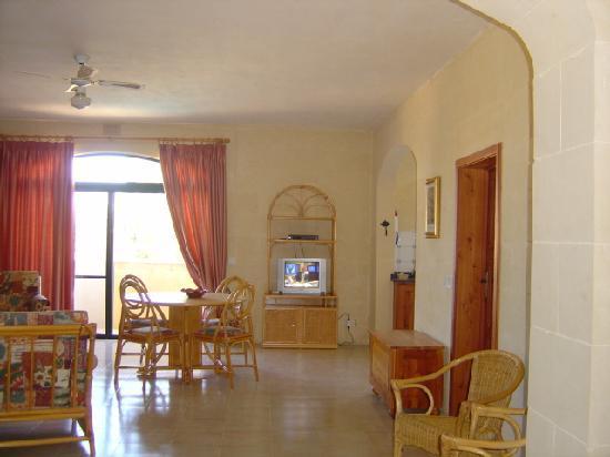 Foresteria Ogygia: Livingroom
