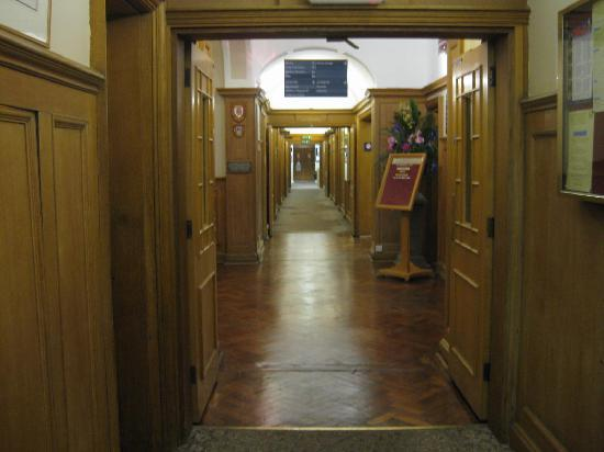 The Lensbury: Hall