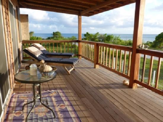 Barbuda Cottages: splendida vista