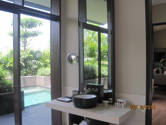Capella Singapore: Pool Villa Bathroom