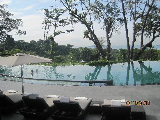 Capella Singapore: Main Swimming Pool