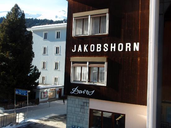 Davos, Suiza: Blick von der Bahn