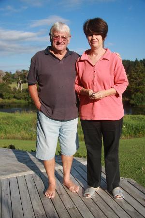 Clearwater Retreat : Jeanie und Greg