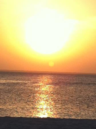 Samaki Lodge & Spa: tramonto