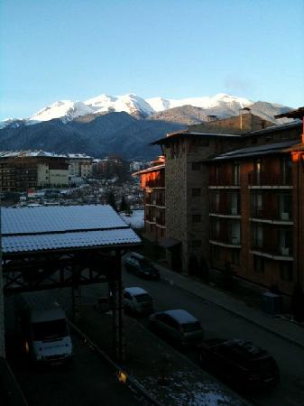 LION Hotel  Bansko: View from our room (403)