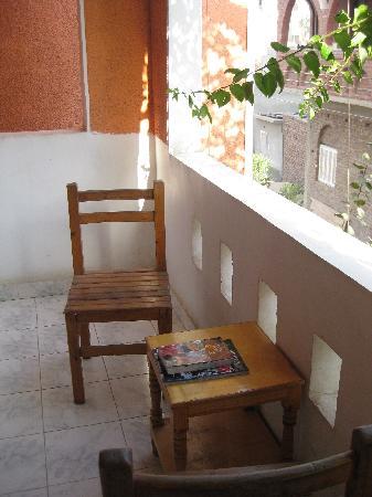 El Fayrouz: Balcony of our room