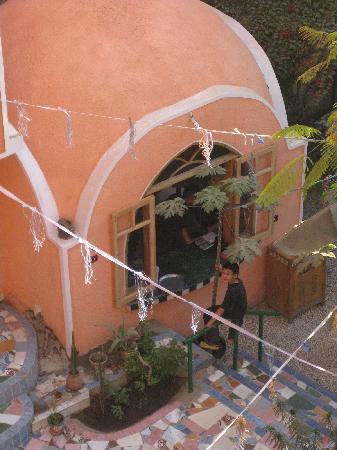 El Fayrouz: The restaurantv kitchen in the garden