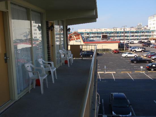 Landmark Motel: Balcon de la chambre