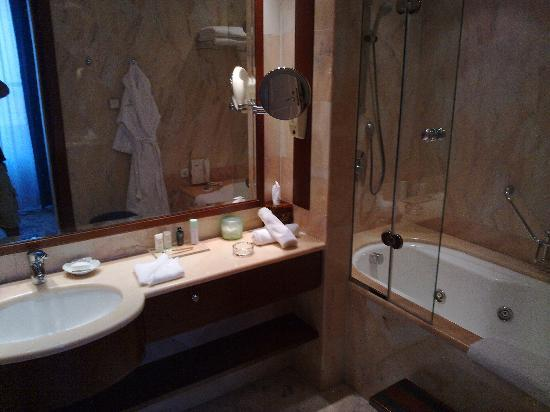 Grande Albergo delle Rose: The bathroom