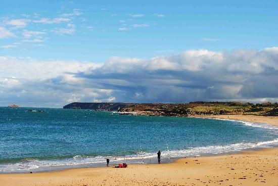 Gites et Chambres Rocheplate : La plage à 300 metres