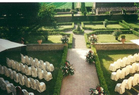 Villa di Piazzano : wedding reception