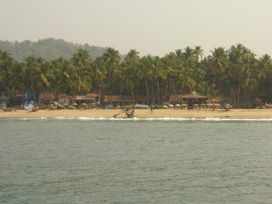 Palolem Beach: View from the sea