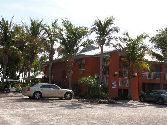 Sanibel Island Beach Resort: My room was on the second floor