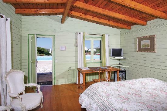 Hotel Epi-Plage : chambre face à la mer