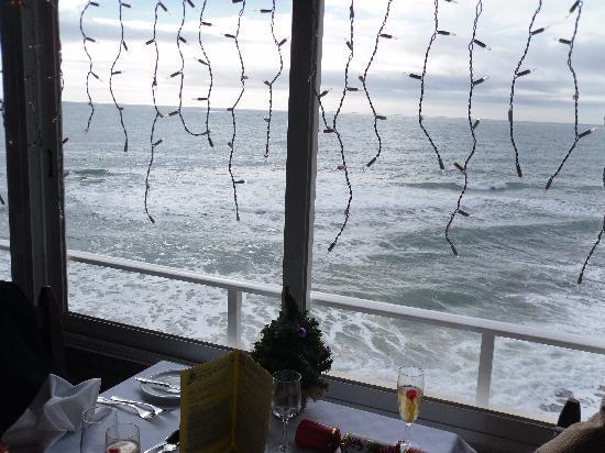 Fortaleza da Luz Restaurante: December sea view from Restaurant terrace on Christmas Day