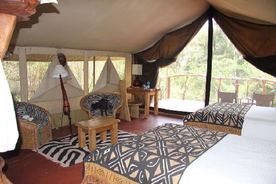 Olumara Camp: Interno tenda