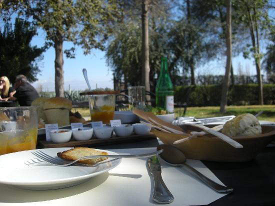 Almacen del Sur Cava Gourmet: Tapas Lunch Outdoors
