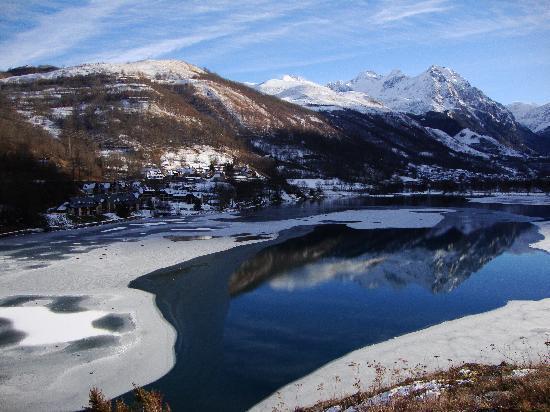 Loudenvielle, France: Le lac Génos