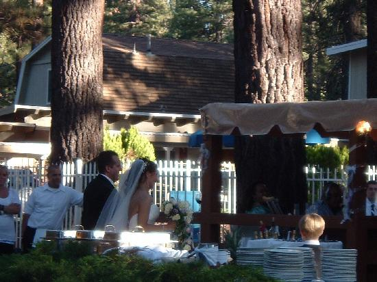 Emerald Bay Lodge: Event Tent for Weddings-Reunions-Parties