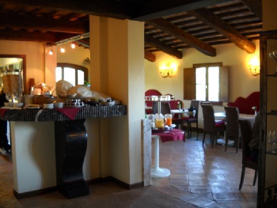 Sovana Hotel & Resort: Sovana Romantik Hotel & Resort - Breakfast
